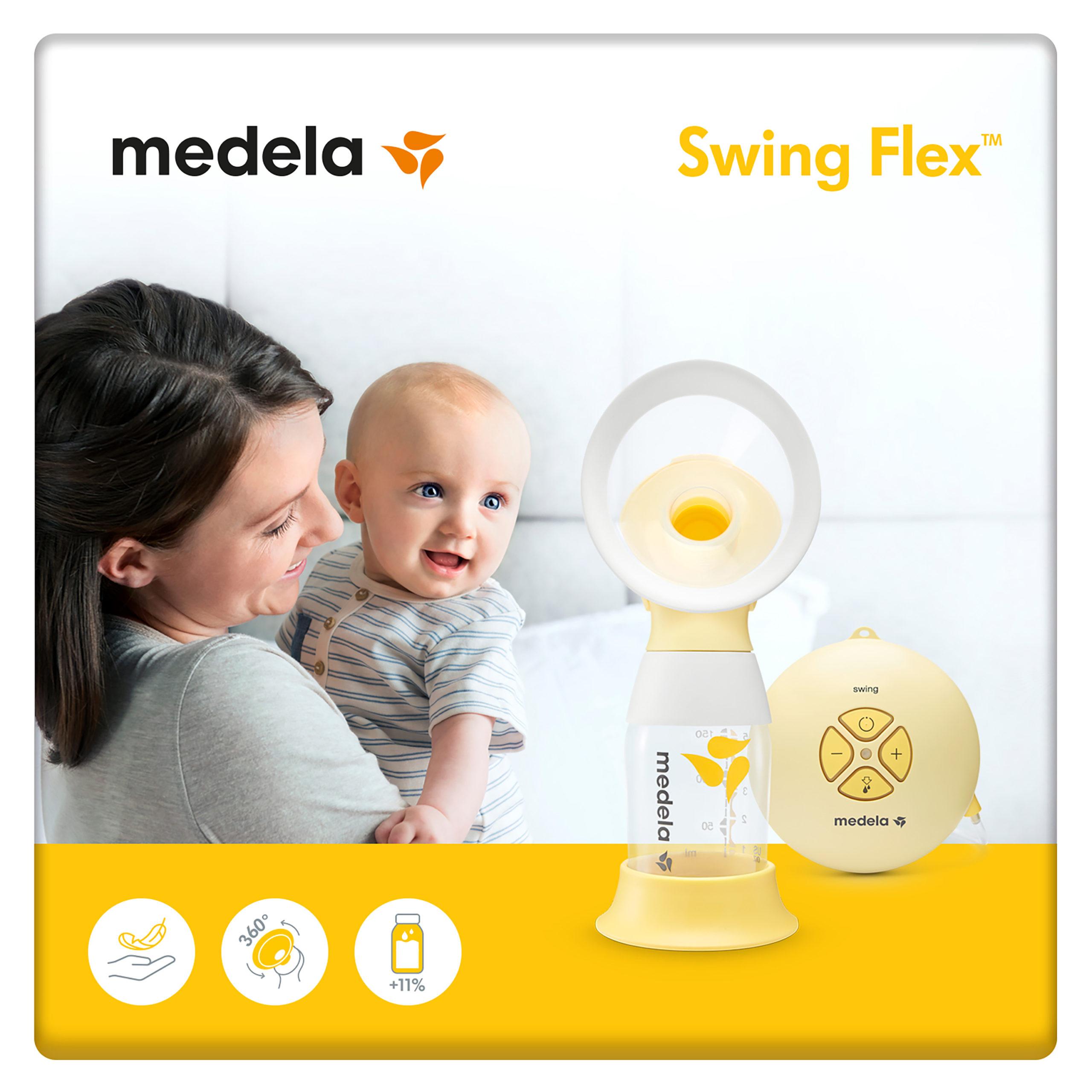 Swing Flex Breast Pump Single Electric Breast Pump Medela